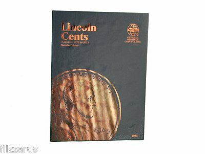 2 Whitman Coin Folders Set Collection Lincoln Memorial Cents Nos.1-2 1959-2008