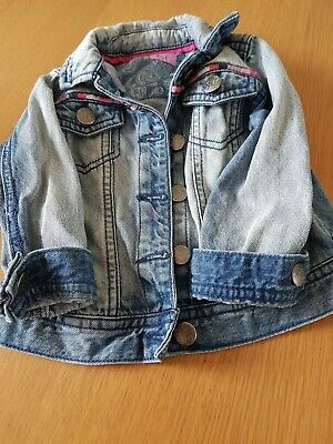 Girls Denim Jacket Age 18-24 Months