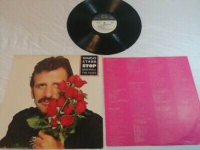 Ringo Starr, Vinyl LP Boardwalk Records, 1981,NB1-33246,Stop and Smell the Roses