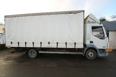 7.5ton Daf LF 45 Box Lorry,Solid sides behind curtains,120k miles,Curtainsider,