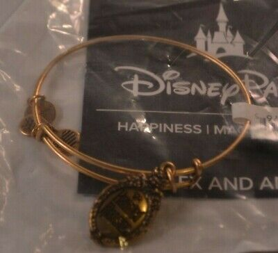 Disney Alex & Ani Haunted Mansion Gold-Tone Bracelet Sealed