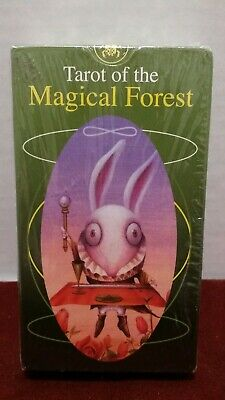 Tarot of the Magical Forest Tarot Cards unopened in factory packaging. Occult