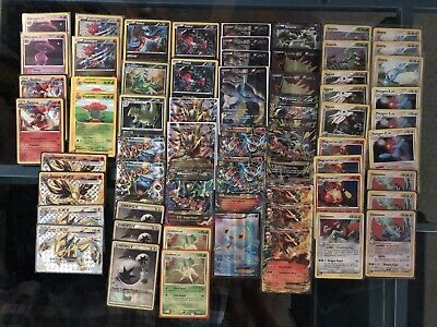 Pokemon Card Lot, Mega Charizard EX, Mega Rayquaza EX, Ultra Rare, Holo Rare, NM