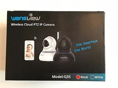 WANSVIEW WIRELESS 1080P Security Camera, WiFi Home Surveillance IP