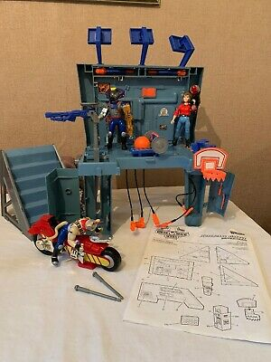 Biker Mice From Mars Galoob Scoreboard Hideout 99% Complete With Instructions +
