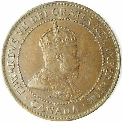 1903  Canada  Cent  Km# 8  A Nearly Uncirculated Coin