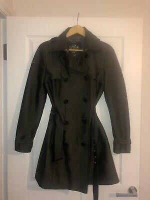 New Womens Superdry Belle Trench Coat Stone