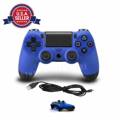 Wireless Controller For SONY PS4 Game Pad Dualshock Standard V2 - BLUE