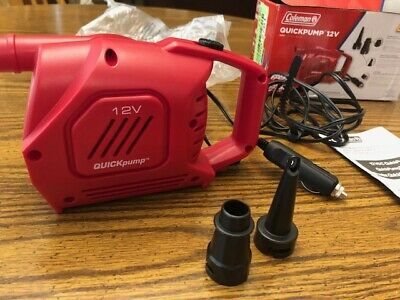Coleman Quickpump 120V Pump For Air Mattress And Other Inflatables Brand New