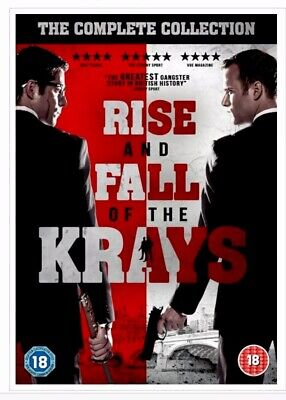 "The Rise and Fall of the Krays (Box Set) [DVD] ""Factory Sealed"" FREE DELIVERY 📦"