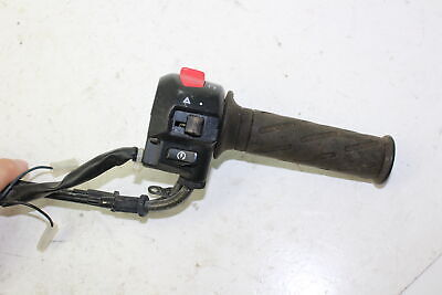 03-09 Suzuki Burgman 650 An650  Right Clip On Throttle On/Off Start Kill Switch