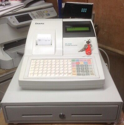 SAM4S ER-390M Electronic Cash Register With Till Rolls And Free P&P