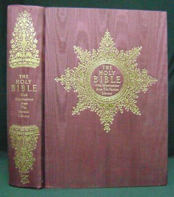THE HOLY BIBLE Illustrations from the Vatican Library Easton Press