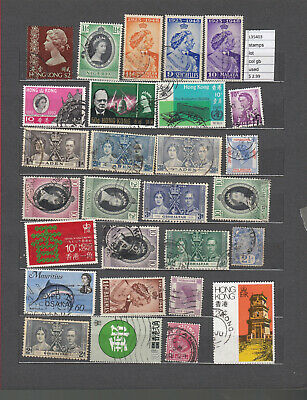 Stamps  Lot   British Colonies Used  (L35403)