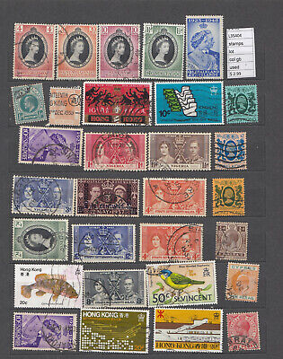Stamps  Lot   British Colonies Used  (L35404)