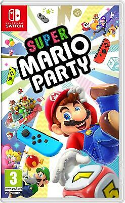Super Mario Party (Nintendo Switch, 2018) Brand New - Region Free