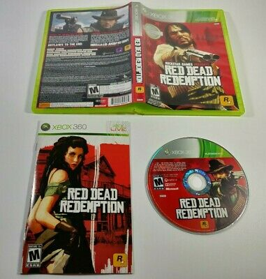 Red Dead Redemption Platinum Hits Xbox 360 2010 Complete
