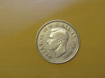 1939 Canada 50 cent silver - (A beauty)