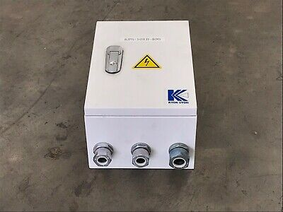 New Kyok Utoh Kps-101D-400 Enclosure Mec Gmd-9 Contactor & Gth-22 Overload Relay