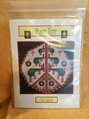 Jim Wurth Counted Needlepoint Pattern Peace Tree