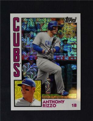 2019 Topps Series 2 Silver Chrome 1984 Base #T84-6 Anthony Rizzo