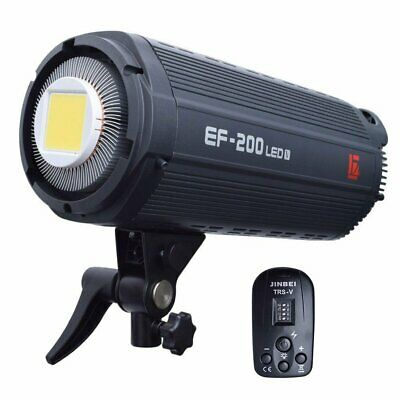 [2019 Ver] Jinbei EF-200 EF-200V Studio Photo Video LED Light + TRS Transmitter