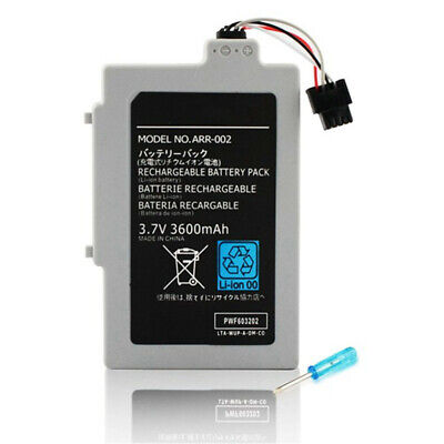 Durable 3.7V 3600mAh Plastic Rechargeable Battery Power Pack for Wii U GamePad