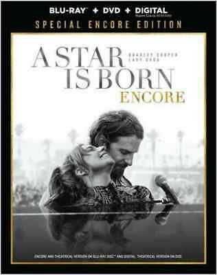 NEW - A Star is Born Encore Edition (Blu-ray + DVD + digital) with  slipcover