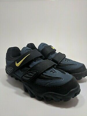 watch 5f25e acd2f VTG 1996 Nike blue ACG Clipless Cycling Shoes Size 6.5