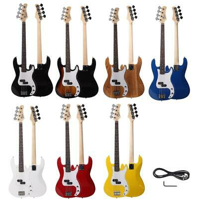 New 7 Colors Glarry 4 Strings Right Handed Electric Guitar Bass