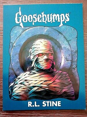 "1996 Goosebumps ""Unused"" Postcard - R.l.stine - #5 The Curse Of The Mummy's Tomb"
