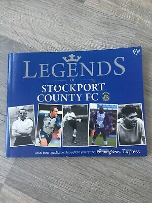 Legends Of Stockport County FC Football Club Book