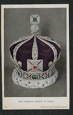 s667)   VINTAGE PC PART CROWN JEWELS COLLECTION - THE IMPERIAL CROWN OF INDIA