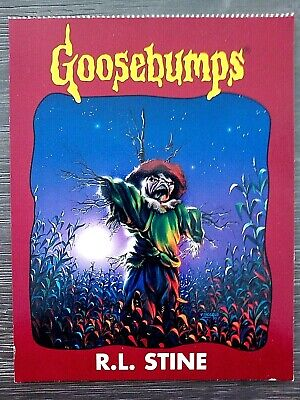"1996 Goosebumps ""Unused"" Postcard-R.l.stine- #20 The Scarecrow Walks At Midnight"