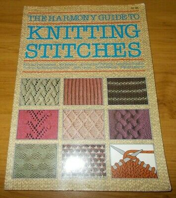 The Harmony Guide To Knitting Stitches~Techniques Of Knitting~Stitch Patterns