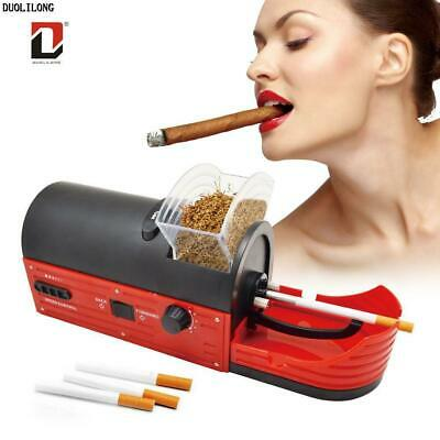 NEW 6.5 ULTRA SLIM ELECTRIC Cigarette INJECTOR Tobacco Rolling Machine C-82AS