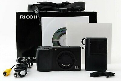 "Ricoh GR Digital II 10.1MP Digital Camera Black ""Excellent"" From Japan #18328"
