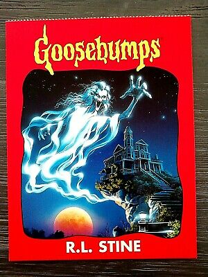 "1996 Goosebumps ""Unused"" Postcard-R.l.stine-Sp.ed.#1Tales To Give You Goosebumps"