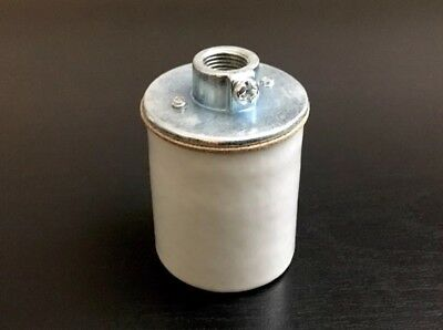 "NEW PORCELAIN LIGHT SOCKET FOR NATIONAL PUMPS WITH 1//2/"" CONDUIT"