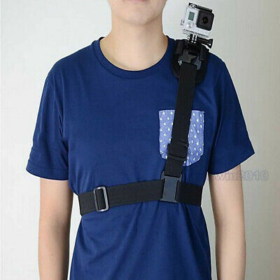 360° Rotation Chest Shoulder Belt Strap Band Mount for Gopro Hero Camera 7/6/5+