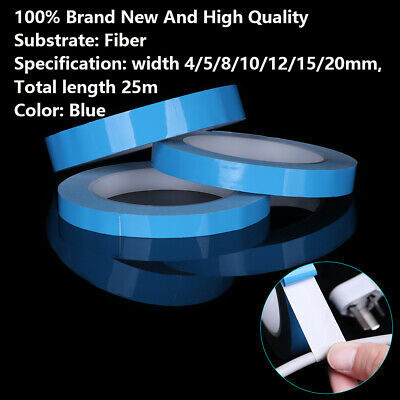 25M Transfer Double Side Thermal Conductive Adhesive Tape LED Strip Heatsink ~