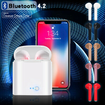 I7S TWS Wireless Earbud Headphones Bluetooth Earphone for iPhone Android pods