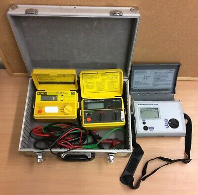 Newlec NLINS300 Digital Insulation & Continuity Tester With RCD & LOOP Tester