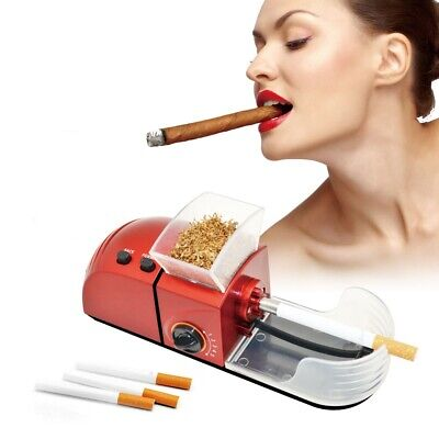 NEW 6.5 ULTRA SLIM ELECTRIC Cigarrette INJECTOR Tobbacco Rolling Machine C-84AS