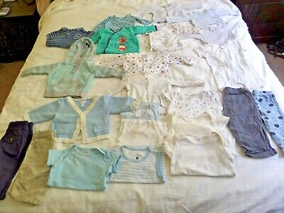 Baby Boy Clothes Size 00 0 Autumn Spring Summer Bulk Bundle no.1