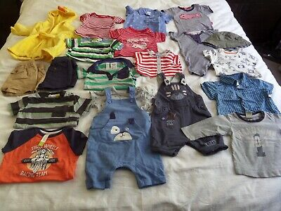 Baby Boys Clothes Size 00 0 Autumn Spring Summer Bulk Bundle no.2