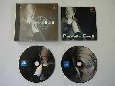 "SONY PlayStation 1 Game Software ""PARASITE EVE 2"" PS1 NTSC-J Japan Import"
