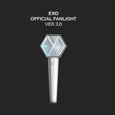 [Preorder] Exo - Official Fanlight, Lightstick 3+P.b. Photocard+Tracking, Sealed