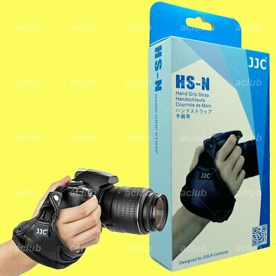 JJC Leather Hand Wrist Grip Strap for Nikon DSLR Camera Z6 Z7 D850 D750 D5 D4 Df