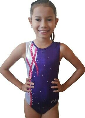 NEW BERRY PASSION SHINY FOIL LEOTARD Gymnastics Dance Acrobatics Quality Gym